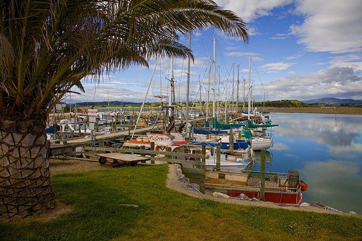 Motueka Marina, see more, learn more, at New Zealand Journeys app for iPad www.gopix.co.nz