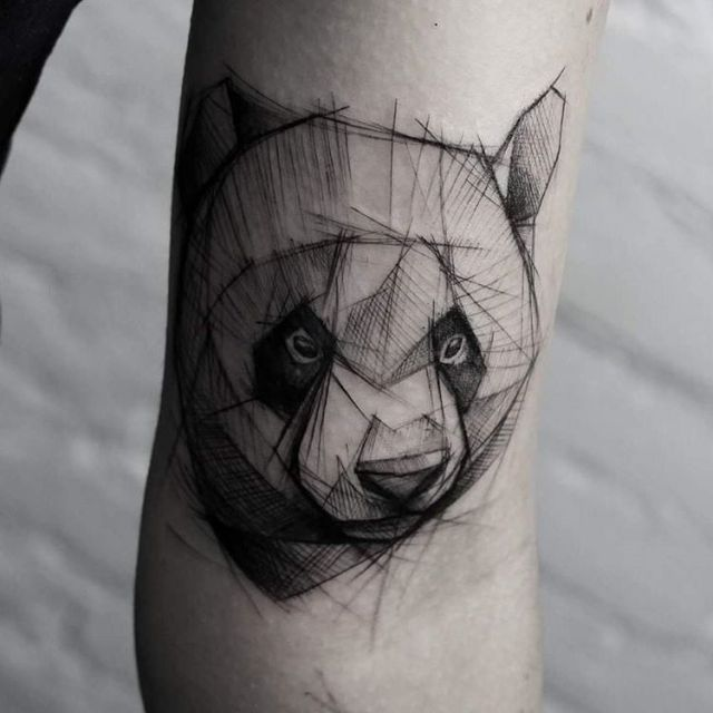 25+ Best Ideas About Panda Tattoos On Pinterest