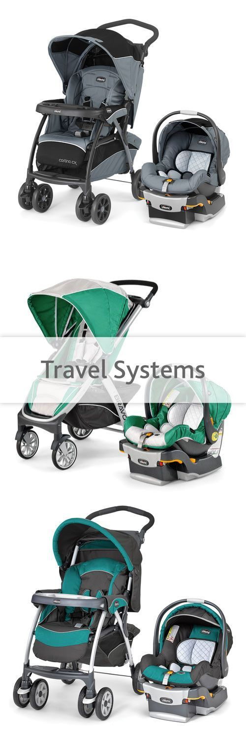 Chicco's travel systems are the easiest way to make sure you have all the equipment you need for baby on every outing. The car seat and stroller combination allows you to easily transfer baby from vehicle to stroller, and then back again!