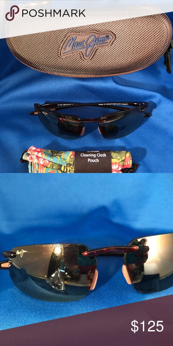 MJ Sport Maui Jim Kanaha BRAND NEW Sunglasses Bronze. Bought and never used.  Just found them in my drawer! Complete with dust cloth and case.    I marked them at nearly half of what you would pay new.  So for now, no offers! Maui Jim Accessories Sunglasses