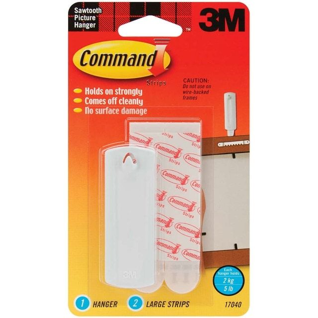 3M Command Large Sawtooth Picture Hangers