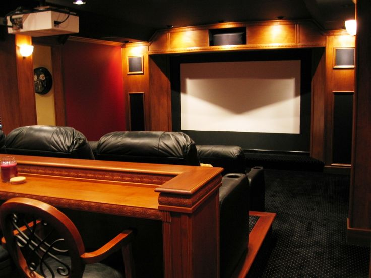 Theater With Bar 2 1024x768 Home DesignHome RoomsHome TheatersBasement IdeasRemodeling