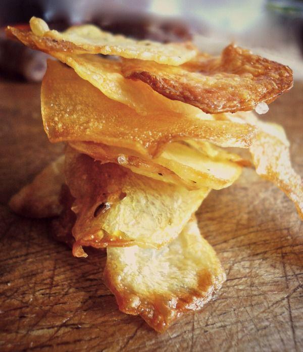 homemade crispy chips!