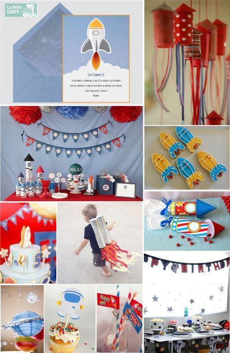 Invitaciones infantiles, invitaciones para fiestas infantiles, cumpleanos de astronauta, cumpleanos espacial, ideas cumpleanos nino