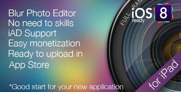 Photo Blur - Blur Wallpaper editor for iPad . Photo has features such as Software Version: iOS 7.0.x, iOS 6.1.x, iOS 6.0
