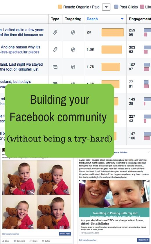 You can build a Facebook community without annoying the very people you're trying to attract - here's how I do it.