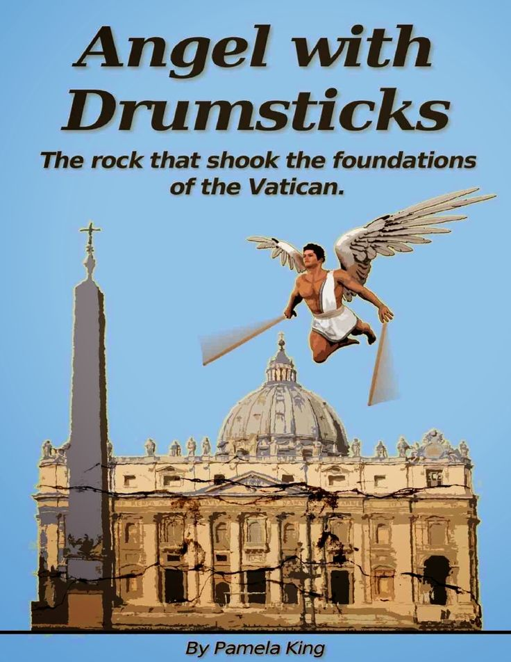 TR Books: Angel with Drumsticks by Pamela King