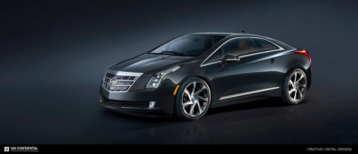 Arriving next WInter. — The All-New 2014 Cadillac ELR