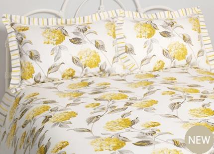 Hydrangea Print Bed linen