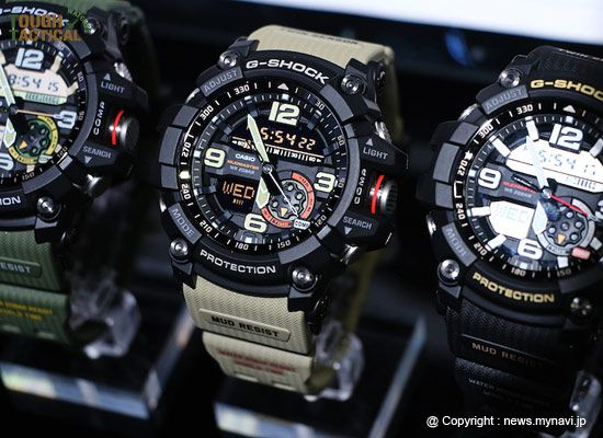New G-Shock GG-1000-1A5, and its band is a desert tan color with negative display.