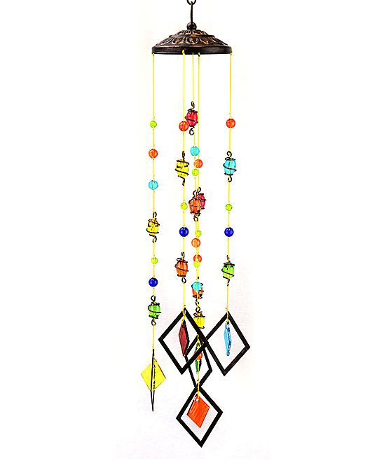 Yellow & Red Wind Chime Mobile