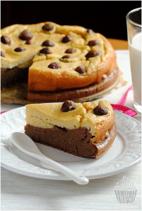 Brownie & Blondie – ciasto jaglane z kaszy jaglanej, z kakao i masłem orzechowym