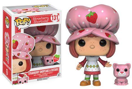 Funko releasing Strawberry Shortcake & Custard pop vinyl from Strawberry Shortcake