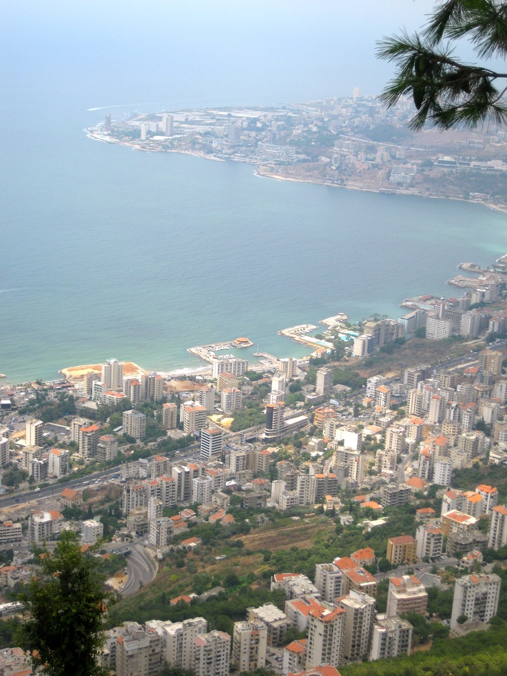 Harissa, Lebanon- I can remember standing here as a 6 year old girl.. Something you just never forget