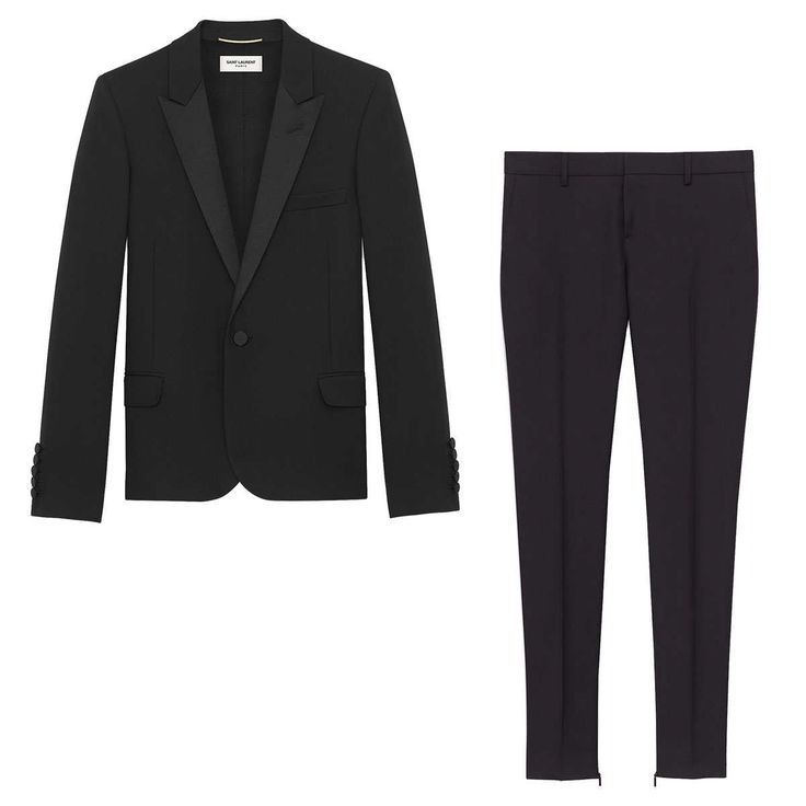 The Tuxedo  The timeless and expertly tailored Le Smoking from Saint Laurent initially made waves for androgynous black-tie dressing. Serving as the cool antithesis of a red-carpet gown, anyone who sports the ensemble today has a good chance of landing on best-dressed lists. Saint Laurent Signature Low-Waisted Skinny Trouser, $850 at Saint Laurent ParisSaint Laurent Virgin Wool-Gabardine Blazer, $2,350 at Net-a-Porter