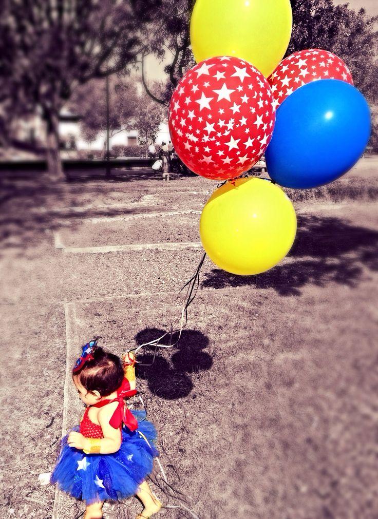 Wonder woman birthday tutu/ my princess first birthday