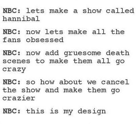 Hannibal | Damn NBC!