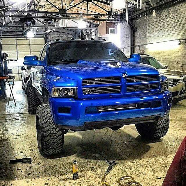 2nd Gen Dodge Ram With 3rd Gen Headlights | 2018 Dodge Reviews