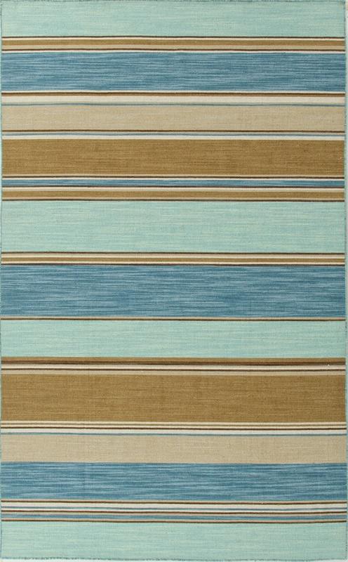 Jaipur Coastal Living(R) Dhurries #rugs stripes