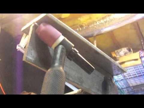 TIG Welding Overhead -How to Tig Weld Overhead - YouTube
