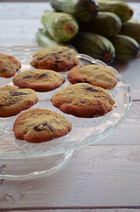 Chocolate – Green Zucchini Cookies