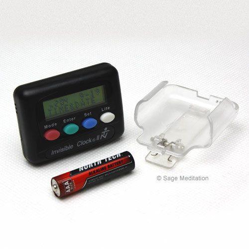 Sage Meditation - Invisible Clock Vibrating Meditation Timer, (http://www.sagemeditation.com/invisible-clock-vibrating-meditation-timer/)