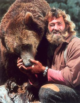 Now I know why I love beards and bears....I loved grizzly Adams when I was a little girl!