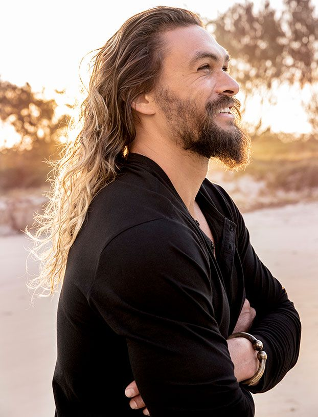 It's golden hour at Hastings Point, a picturesque surfers' beach 70-odd miles south of Brisbane, and Jason Momoa is getting antsy. The 38-year-old American actor has been preening for hours, and he