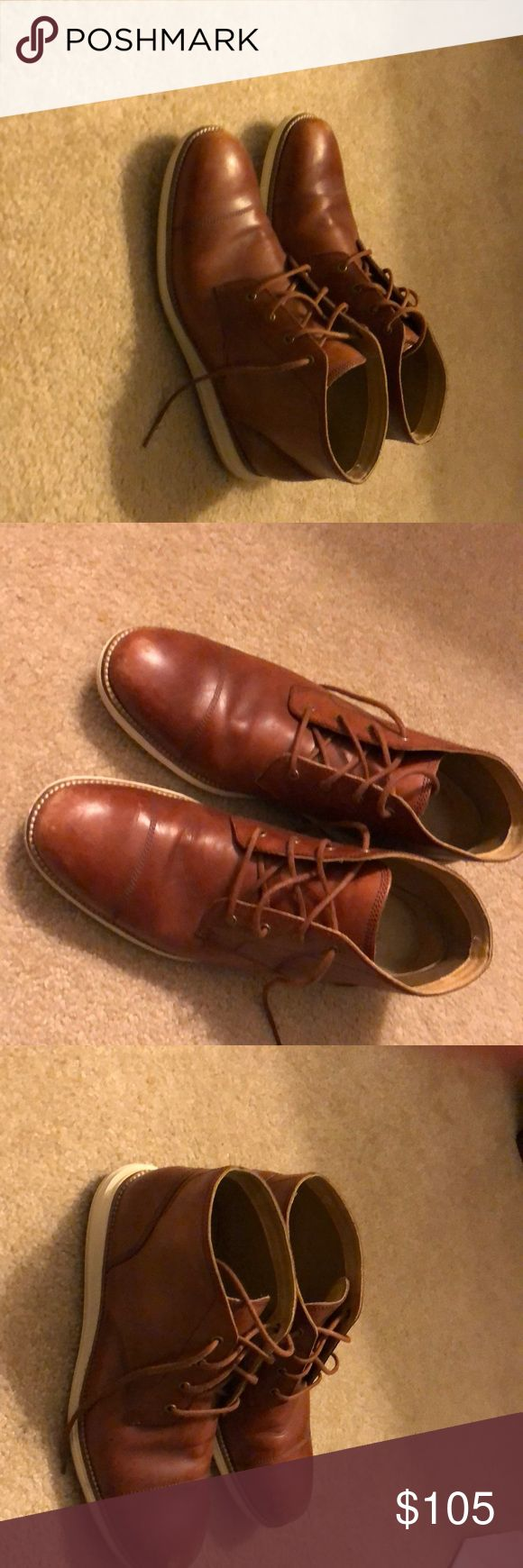 Cole haan Zero Grand Cole haan Zero Grand size 10.5.  In good condition very light and super comfortable. Cole Haan Shoes Chukka Boots