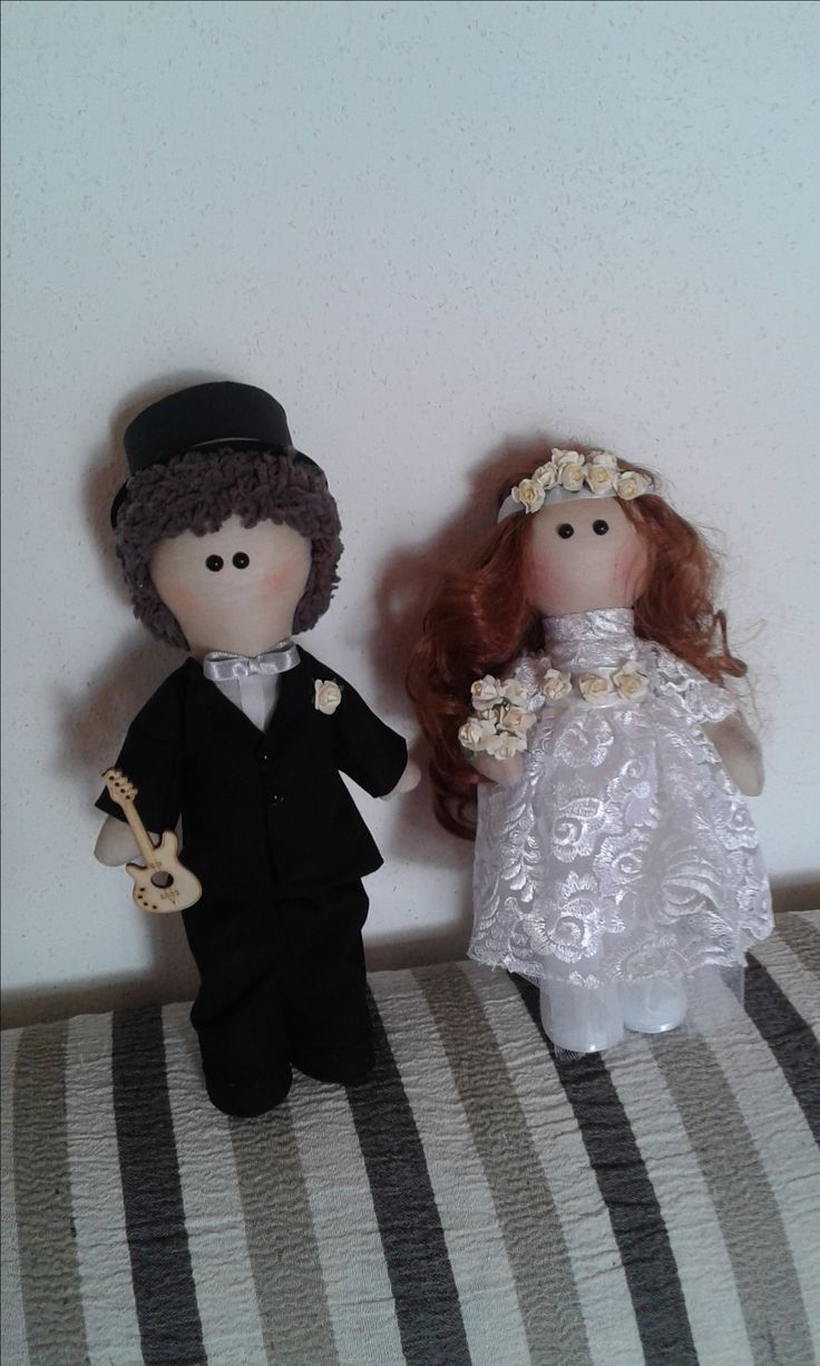 my bride and groom dolls