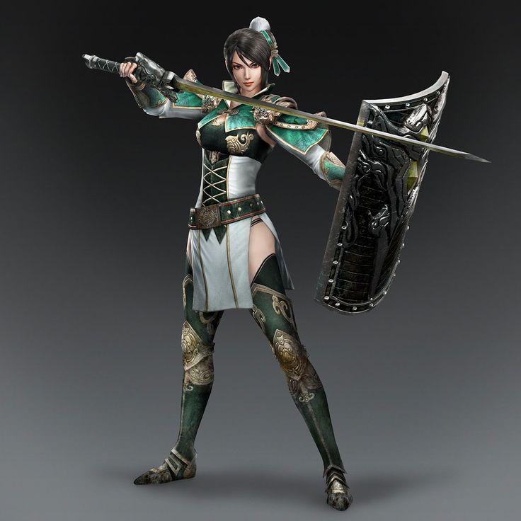 Xing Cai & Weapon (Shu Forces)