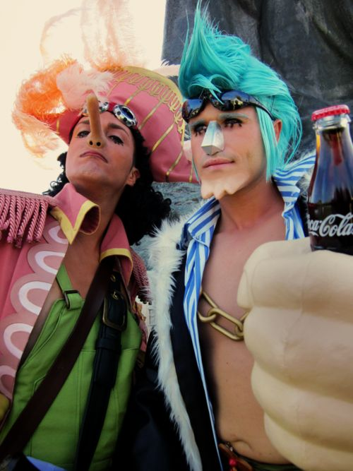 One Piece Franky and Usopp