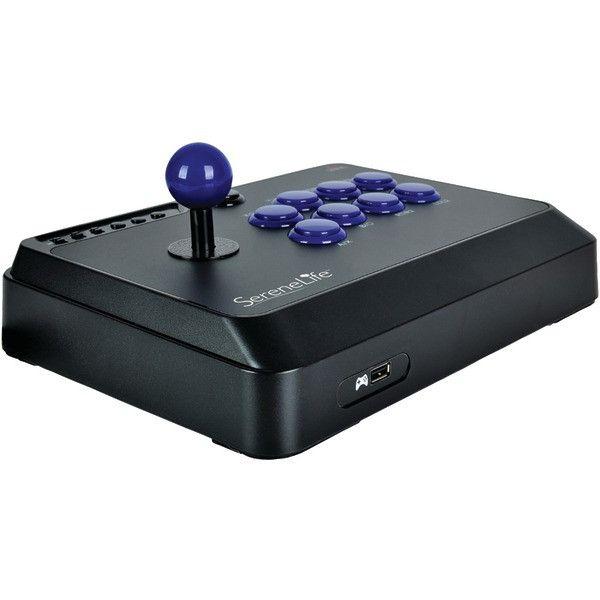 SERENE-LIFE SLARJST24 PlayStation(R)4/Xbox One(R)/PC Arcade Fight Stick