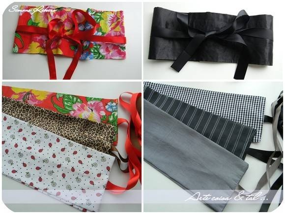 O obi, acessório da vestimenta japonesa, usado na cintura ou abaixo dos seios. Ficam lindas em camisas, regatas, jaquetas e vestidos, para marcar a cintura e modelar a silhueta. Com duas opções de amarração na frente ou nas costas, com nó ou laço. Medidas relevantes: - Circunferência de 65cm a 90cm - Faixas de amarrar ( cada lado) 74cm ***** Mais detalhes, cores e estampas consulte-nos através do e-mail: arq.simoneribeiro@yahoo.com.br Envio por carta registrada para todo o Brasil R$ 6,00 ...