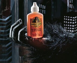 Expert Verdict Gorilla Glue (2 fl oz) Already legendary in America and now available here, Gorilla Glue is so strong it's recommended by building magazines! It will bond with stone, concrete, metal, wood, ceramic, glass, plastic and more. http://www.MightGet.com/january-2017-11/expert-verdict-gorilla-glue-2-fl-oz-.asp