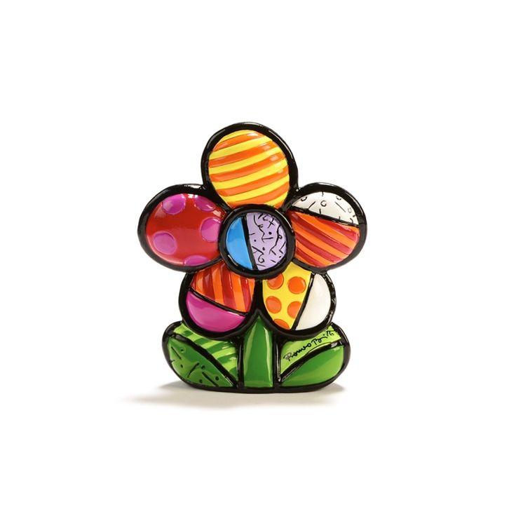 Mini Flower Figurine - Britto - Romeo Britto by General - ROMEO BRITTO  - COLLECTABLES
