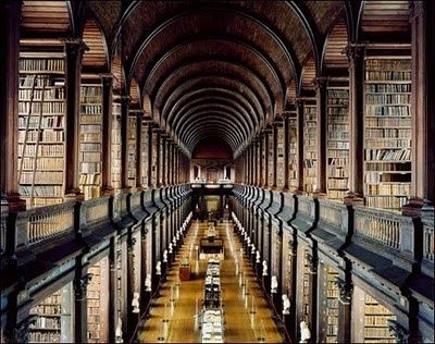 Trinity college library #Ireland