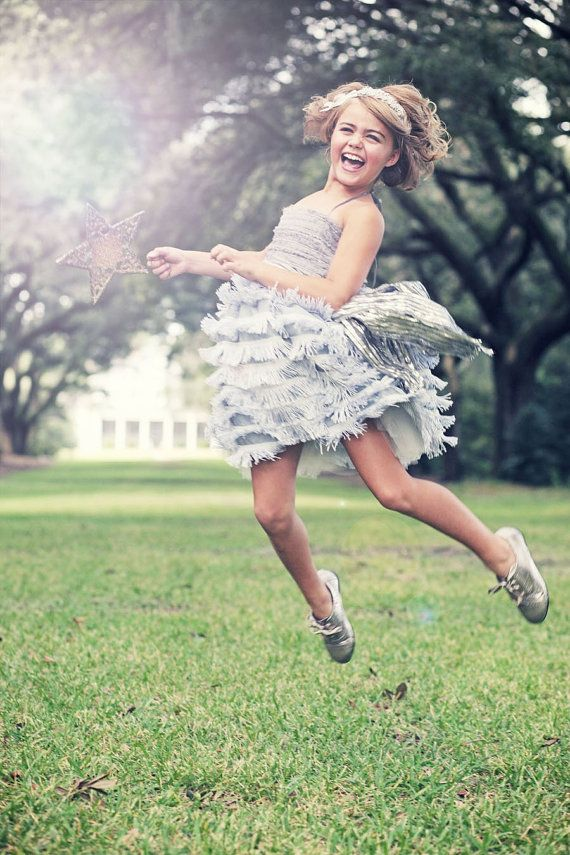 Perfect colour TOO EXPENSIVE Dove Grey Vera Flapper Flower Girl Dress With by DolorisPetunia, $500.00