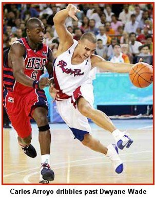 """Puerto Rico became the first-ever in history to beat the USA's NBA """"Dream Team"""" during the 2004 Summer Olympics."""