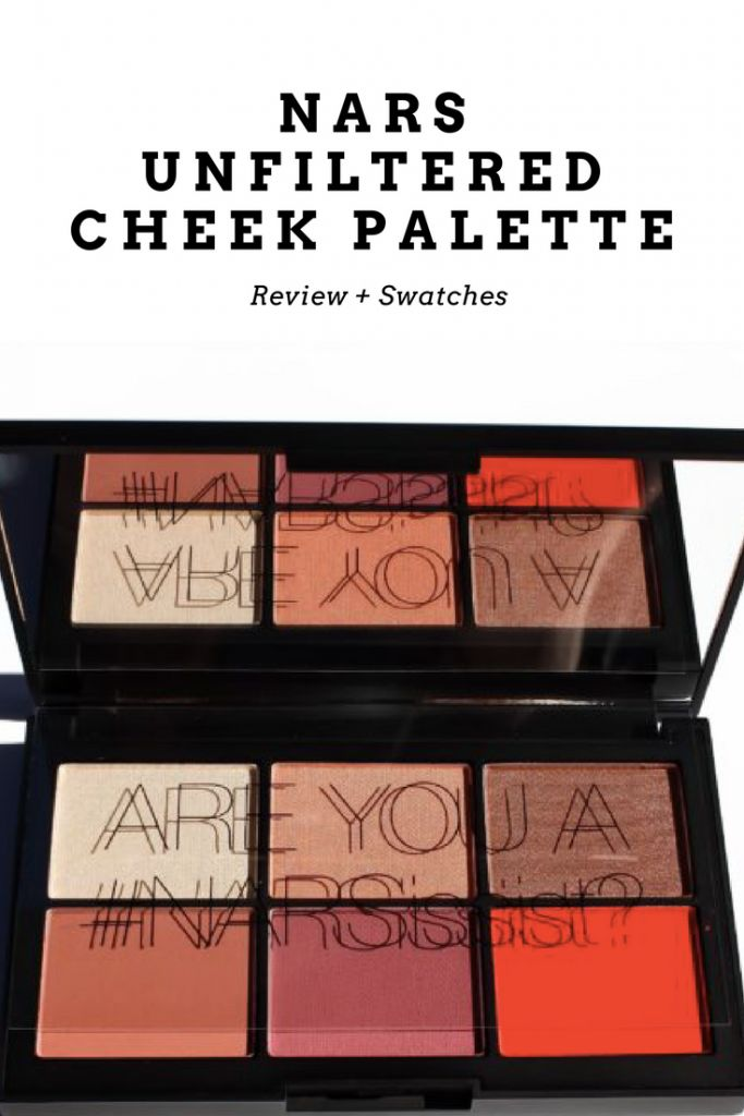 NARS UNFILTERED CHEEK PALETTE | PHOTOS + SWATCHES | Kate Loves Makeup