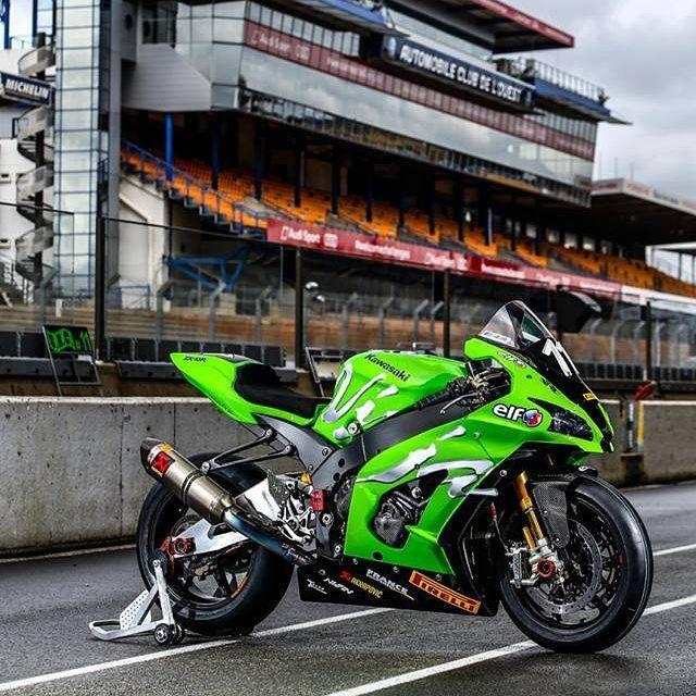 #Kawasaki #ZX10R Team Kawasaki #SRC 2016