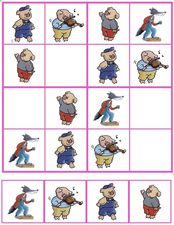 Sudoku De 3 biggetjes (06)