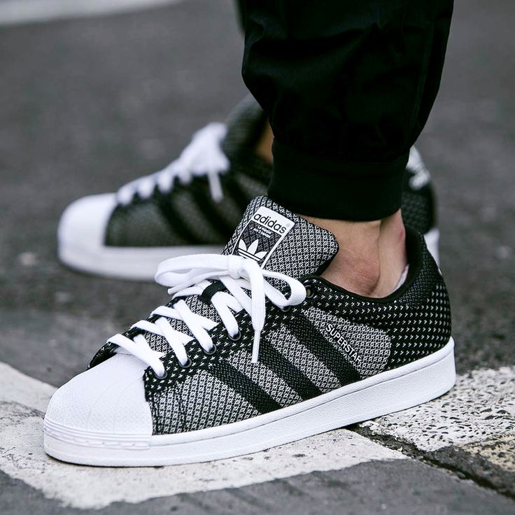 """unstablefragments2: """" adidas Superstar Weave (via Kicks-daily.com) """" /// Find more adidas sneakers, here."""