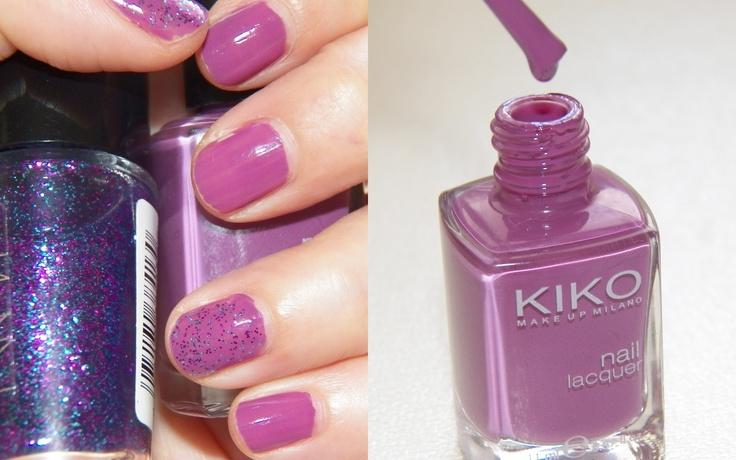 Kiko cosmetics - Light plum NYC - Midnight confeti