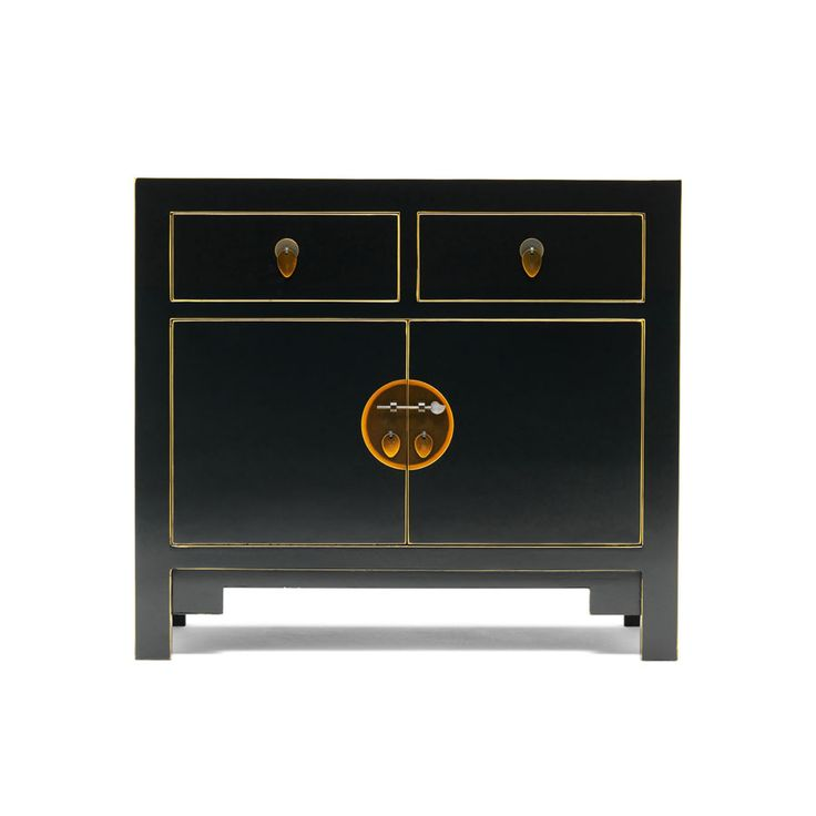 The Nine Schools manufacturers Chinese Furniture and Oriental Accessories - such as Black Gloss Sideboards, Painted Cabinets and Oriental Trunks,