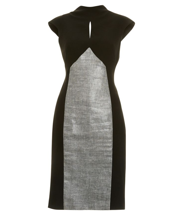 Coated Tweed Dress