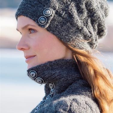 Flettet lue - Design by Marte Helgetun: Hats, Flettet Lue, Knitting, Knit Designs