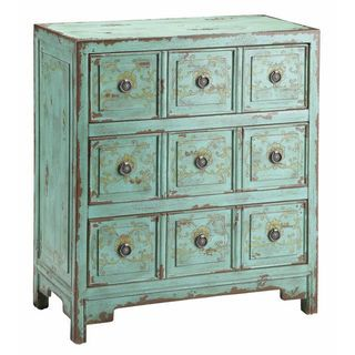 Anna Apothecary Chest - storage idea for living room/mud room