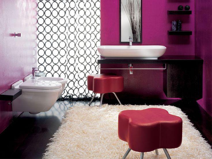 Dark Purple Bathroom Accessories - ierie.com