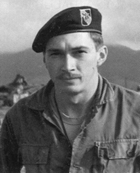 """SSGT Gary Lee Crone -SILVER STAR FOR BRAVERY-US ARMY SPECIAL FORCES """" 5SF GROUP , BATTLE OF LANG VEI -KIA 1/29/68 AGE 27, hostile ambush by enemy on Hill 471 , 3km SSW of KHE SAHN COMBAT BASE . Awarded SILVER STAR and BRONZE STAR FOR BRAVERY. SSGT Crone was on a local reconnaissance patrol mission with BRU Montagnards Tribesmen when they were ambushed by a large NVA force......"""
